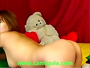 AsianSweety masturbates on cam